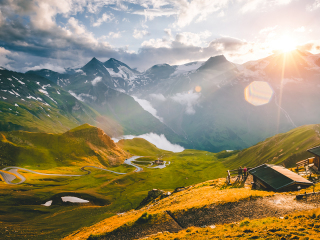 Österreich_Tirol_Großglockner_Sunset_16_9