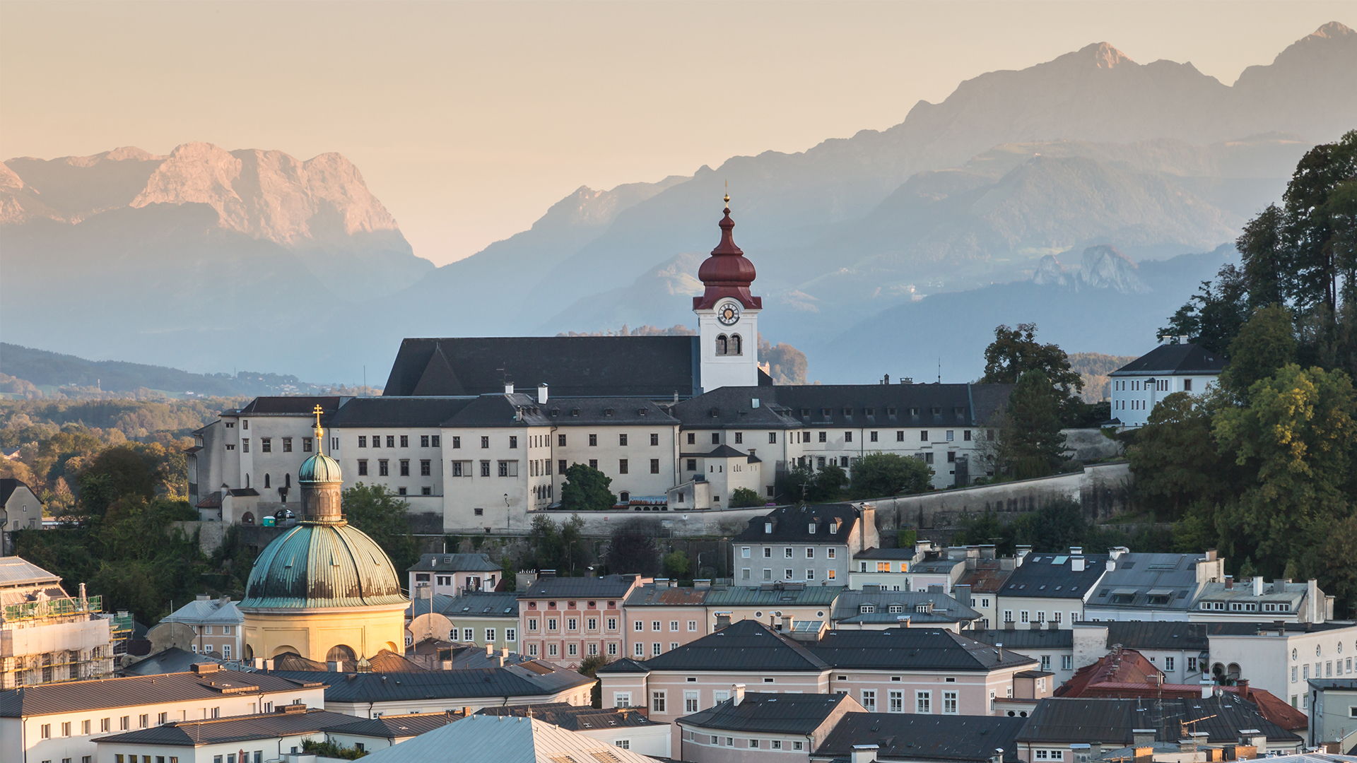 Salzburg-Nonnberg-Alps