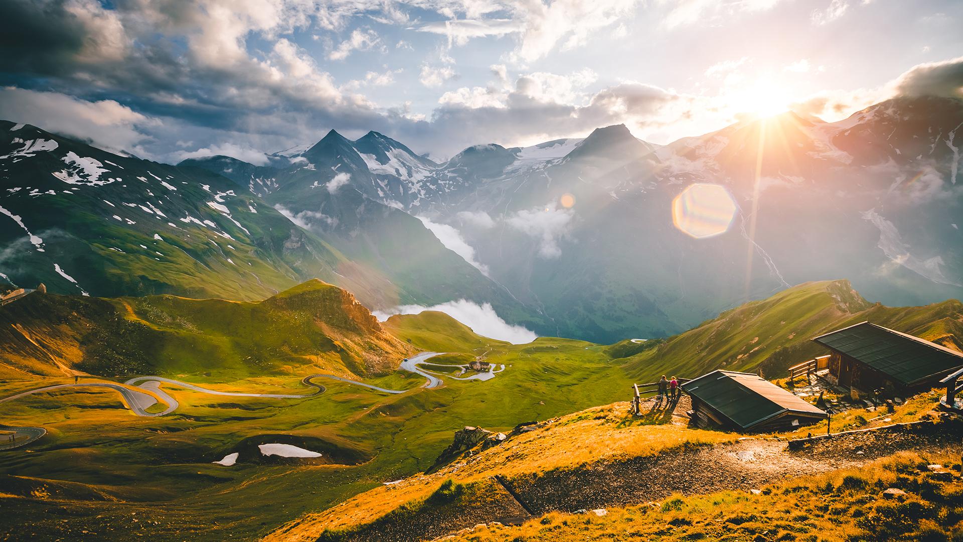 Österreich_Tirol_Grosglockner_Sunset_16_9